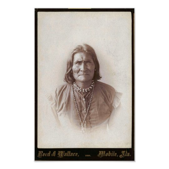 Vintage Geronimo Poster
