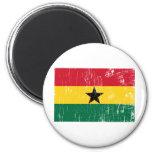 Vintage Ghana Fridge Magnet