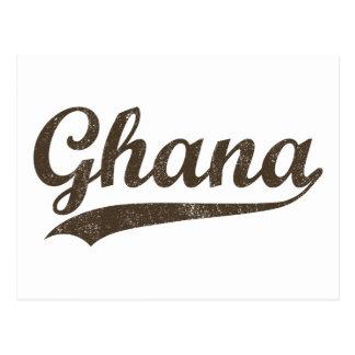 Vintage Ghana Postcard