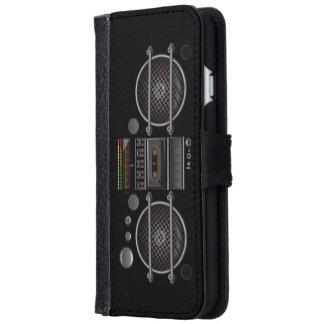Vintage Ghetto Blaster Boombox iPhone 6 Wallet Case