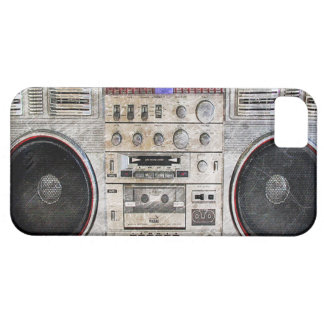 vintage ghetto blaster case for the iPhone 5