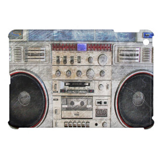 Vintage ghetto blaster iPad mini cover