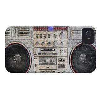 vintage ghetto blaster iPhone 4 Case-Mate case
