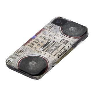 vintage ghetto blaster iPhone 4 cases
