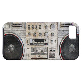 vintage ghetto blaster iPhone 5 cases