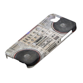 vintage ghetto blaster iPhone 5 cover