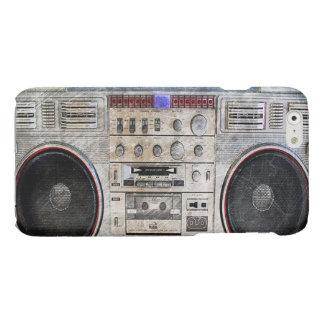 Vintage ghetto blaster iPhone 6 plus case