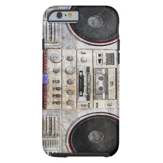 vintage ghetto blaster iPhone 6 case