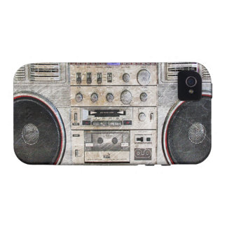 vintage ghetto blaster vibe iPhone 4 covers