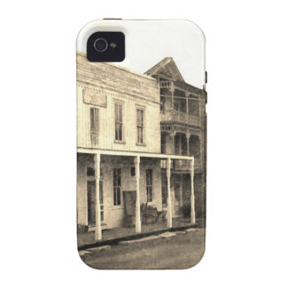 Vintage Ghost Town Hotel Vibe iPhone 4 Cover
