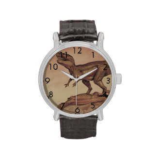 Vintage Giganotosaurus Dinosaur, Carnivore Wrist Watch