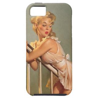 Vintage Gil Elvgren Pinup Girl iphone 5 Tough Case iPhone 5 Cover