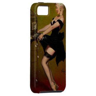 Vintage Gil Elvgren Slot Machine Pinup Girl iPhone 5 Case