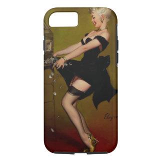 Vintage Gil Elvgren Slot Machine Pinup Girl iPhone 7 Case