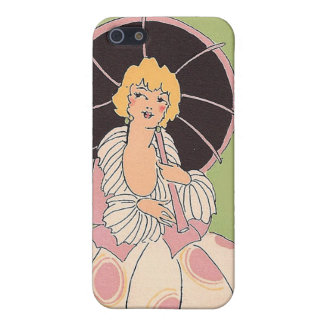 Vintage Girl Cover For iPhone 5