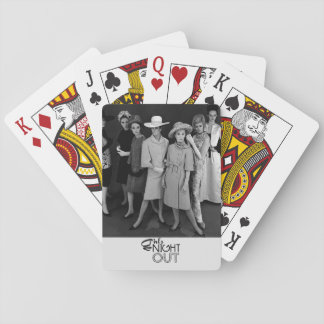 Vintage Girls' Night Out Playing Cards
