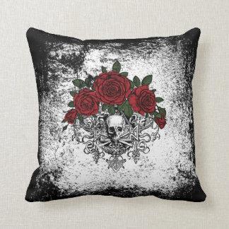 Vintage Glam Skeleton Pillow