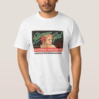 Vintage Glamour Girl Label Shirt