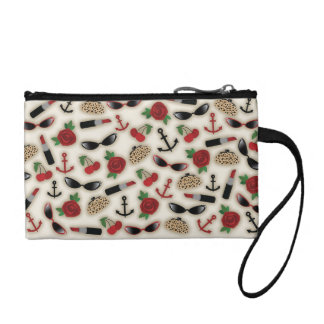 Vintage Glamour Inspired Key Coin Clutch Coin Purses