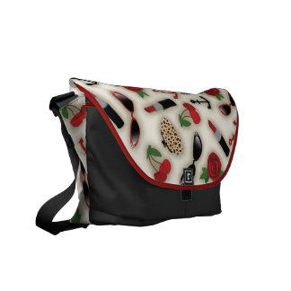 Vintage Glamour Inspired Messenger Bag