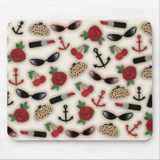Vintage Glamour Inspired Mousepad
