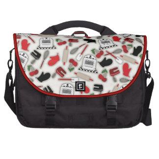 Vintage Glamour Kitchen Laptop Bag