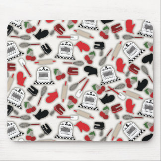 Vintage Glamour Kitchen Mousepad