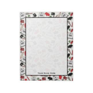 Vintage Glamour Kitchen Notepad