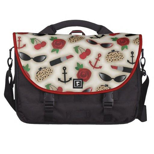 Vintage Glamour Laptop Bag