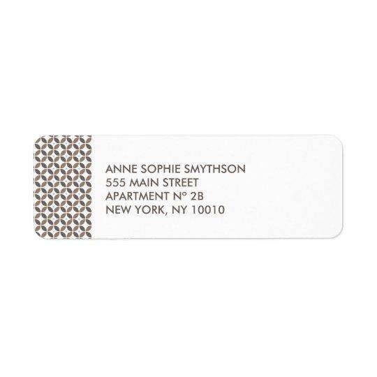Vintage Glamour Return Address Label