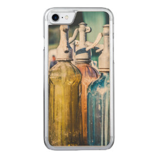 Vintage Glass Bottles Carved iPhone 8/7 Case