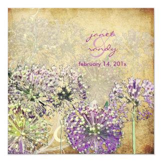 Vintage/Globe Flower/in the garden Card
