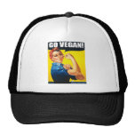 Vintage Go Vegan Hat