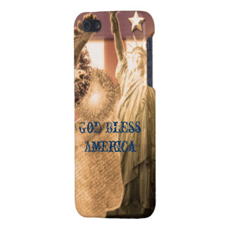 Vintage God Bless America iPhone case customizable iPhone 5 Covers