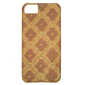 Vintage Gold Brown Damask Case-Mate iPhone 5 iPhone 5C Case