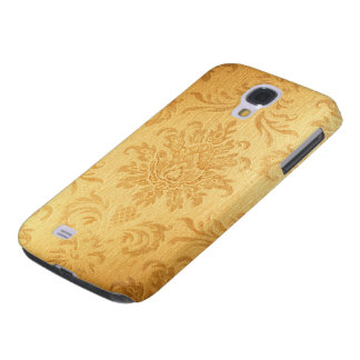 Vintage Gold Damask Galaxy S4 Case