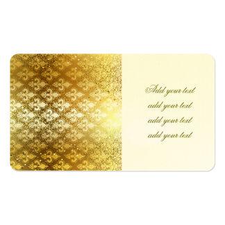Vintage,gold,fleur de lis,antique,vintage,chic,fun pack of standard business cards