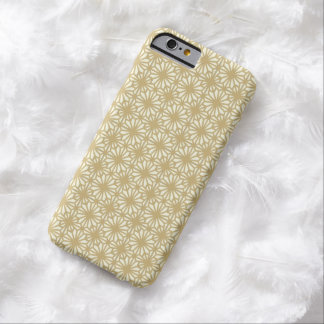 Vintage Gold Lace Floral Pattern iPhone 6 Case Barely There iPhone 6 Case