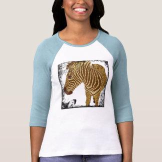 Vintage Gold Zebra T-shirt