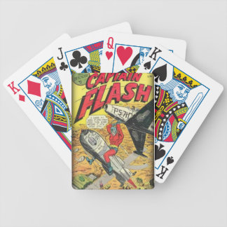 Vintage Golden Age Comic Book Bicycle Playing Cards