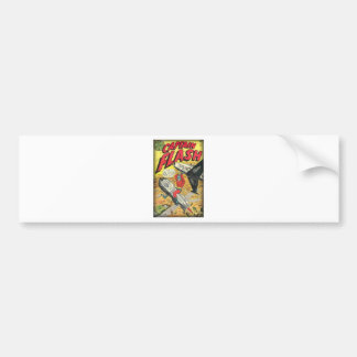 Vintage Golden Age Comic Book Bumper Sticker