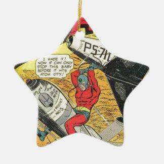 Vintage Golden Age Comic Book Christmas Ornament