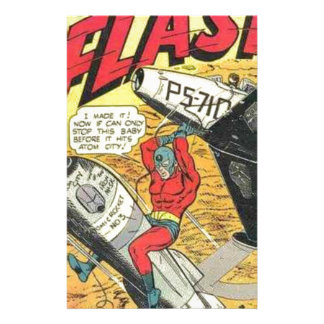 Vintage Golden Age Comic Book Customised Stationery