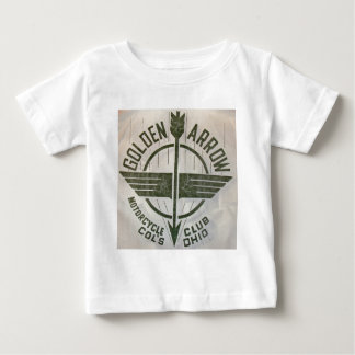 Vintage Golden Arrow Motorcycle Logo Baby T-Shirt