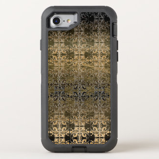 Vintage Golden Damask OtterBox Defender iPhone 7 Case