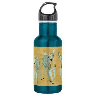 Vintage Golden Dearest Deer Liberty Bottle 532 Ml Water Bottle