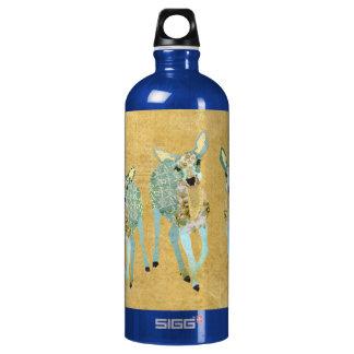 Vintage Golden Dearest Deer Liberty Bottle SIGG Traveller 1.0L Water Bottle