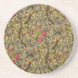 Vintage Golden Lilly Floral Design