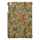 Vintage Golden Lilly Floral Design Case For The iPad Mini