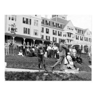 Vintage Golf 1890s Postcard